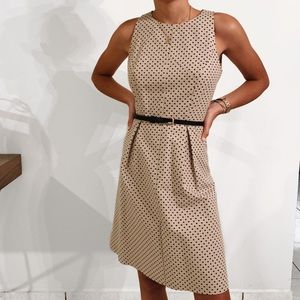Ann Taylor | Formal Dot Dress